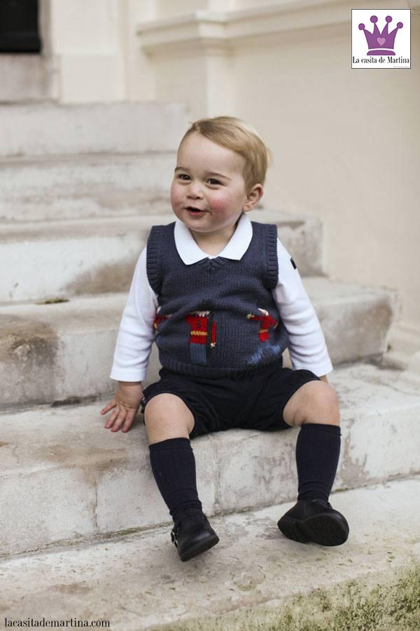 Prince George, Chaleco Cath Kidston, Blog Moda Infantil, La casita de Martina, Carolina Simó, 2