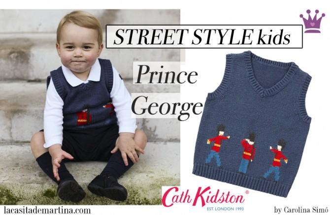 Prince George, Chaleco Cath Kidston, Blog Moda Infantil, La casita de Martina, Carolina Simó