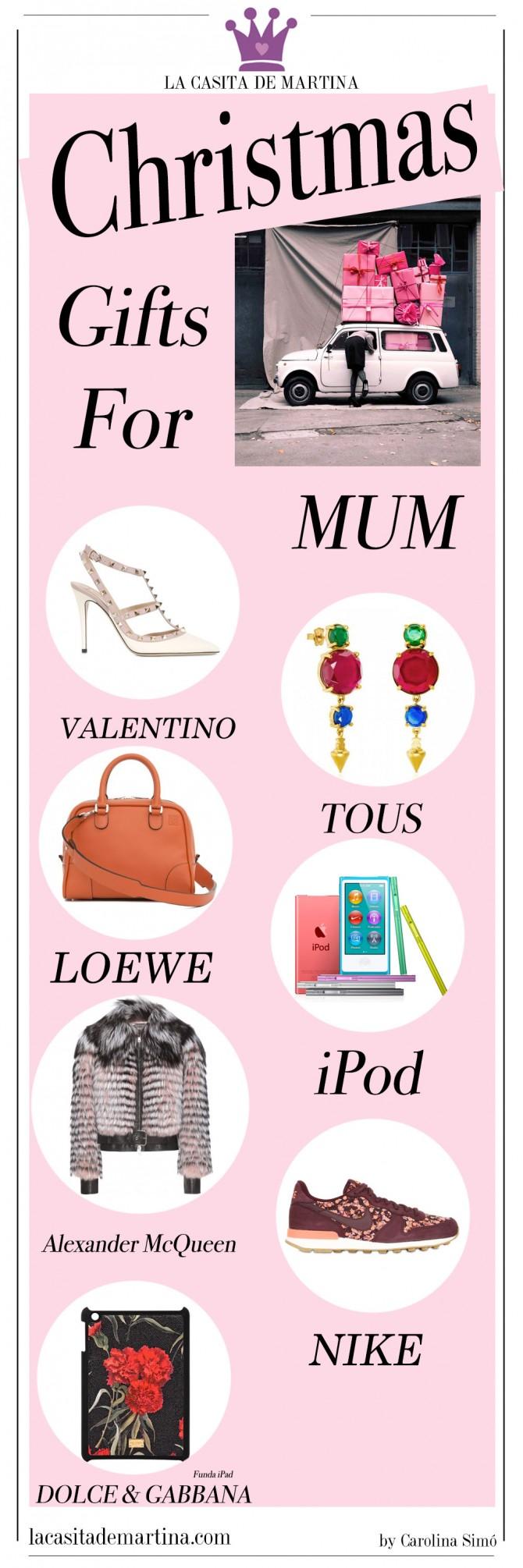 Regalos Navidad, Loewe, Tous,  Zapatos Valentino, Blog Moda Infantil, La casita de Martina