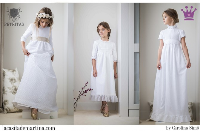 Trajes Comunión, Petritas, Vestidos Comunión niña, Blog Moda Infantil, La casita de Martina, 2