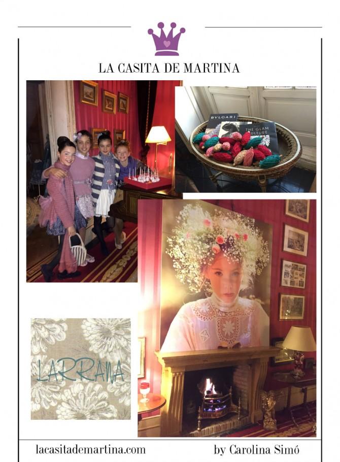 Larrana moda infantil, Blog Moda Infantil, Evento Larrana 2015, Vestidos Larrana, 2