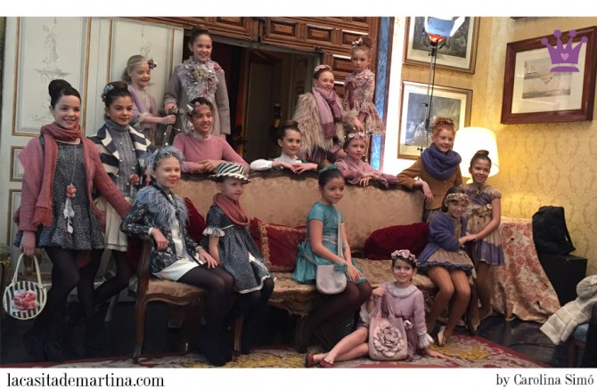 Larrana moda infantil, Blog Moda Infantil, Evento Larrana 2015, Vestidos Larrana