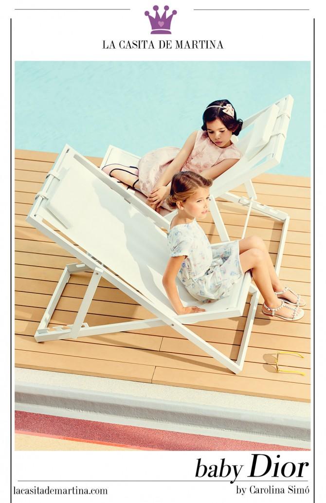 Colecci n primavera verano 2015 moda infantil baby dior for La casita de martina