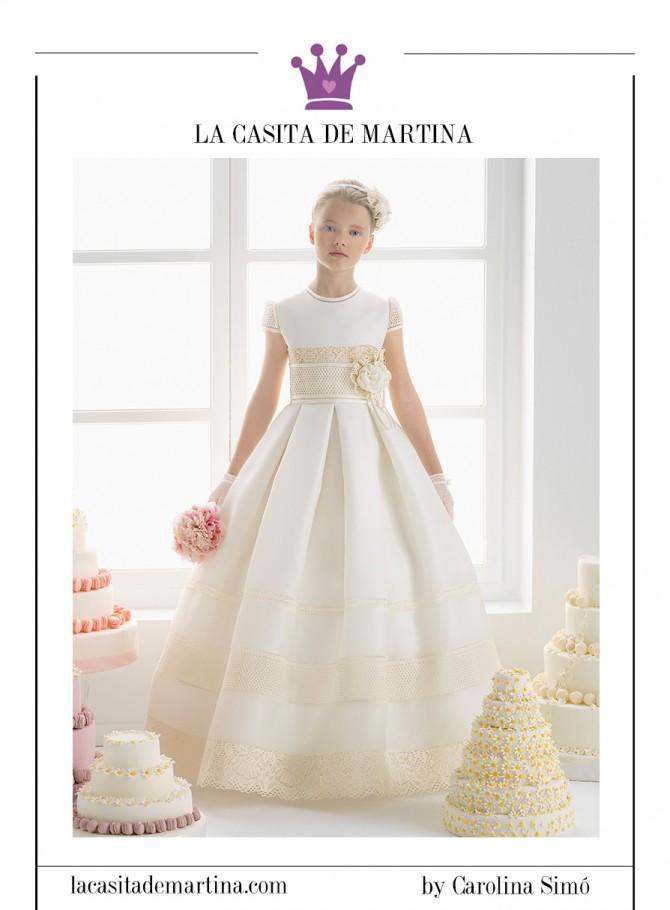Vestidos comunion plumeti 2015 for La casita de martina