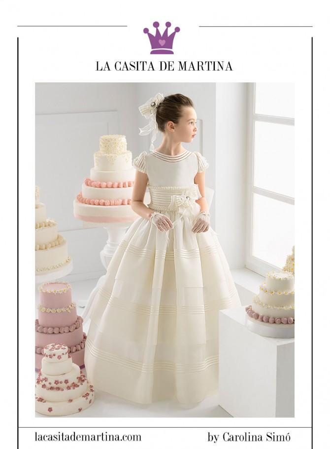 Trajes Comunión, Rosa Clará, Moda Infantil, La casita de Martina, Carolina Simó, 6