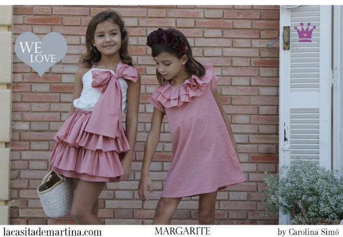Blog Moda Infantil, Margarite moda, Vestidos para niñas, Ropa Niños, La casita de Martina, Moda Infantil verano