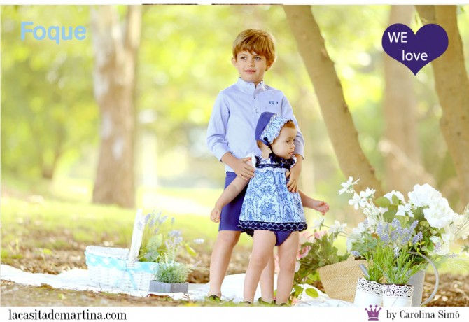 Foque moda infantil, Blog Moda Infantil, Vestidos para niñas, Ropa Niños, La casita de Martina, Moda Infantil verano