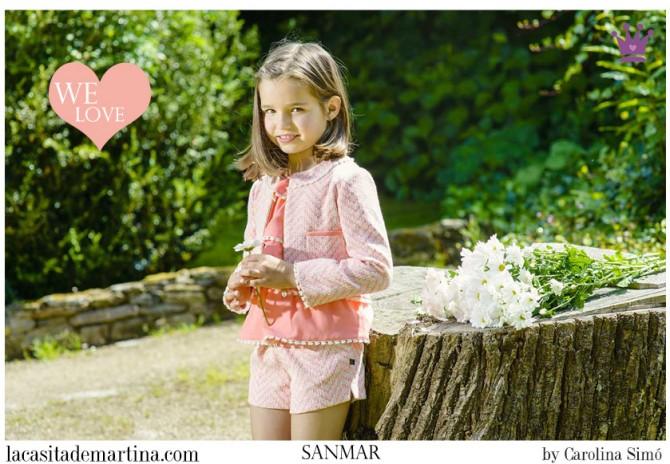 Sanmar, Blog Moda Infantil, Vestidos para niñas, Ropa Niños, La casita de Martina, Moda Infantil verano