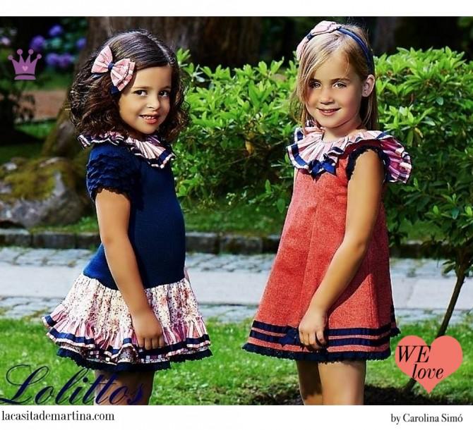 Lolittos moda infantil, Blog Moda Infantil, Vestidos para niñas, Ropa Niños, La casita de Martina, Moda Infantil verano