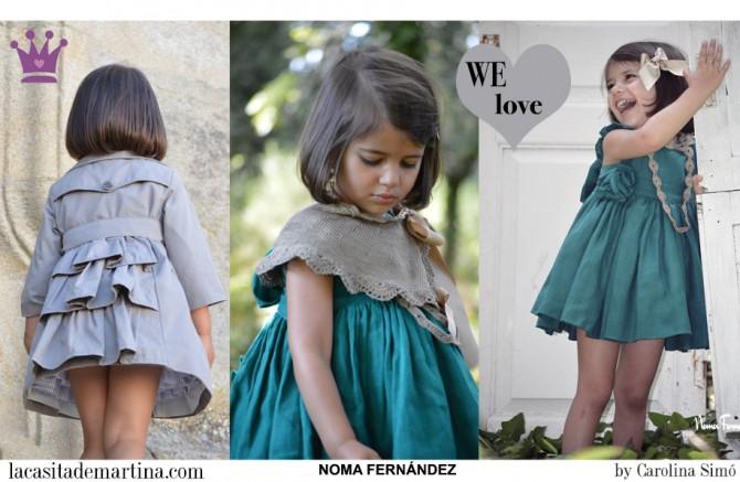 Noma Fernández moda infantil, Blog Moda Infantil, Margarite moda, Vestidos para niñas, Ropa Niños, La casita de Martina, Moda Infantil verano