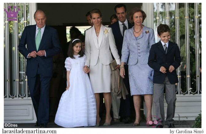 Vestido Comunión Princesa Leonor, Trajes Comunión 2015, Blog Moda Infantil, La casita de Martina, Infanta Elena