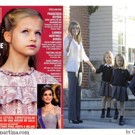 Vestido Comunión Princesa Leonor, Trajes Comunión 2015, Blog Moda Infantil, La casita de Martina, Moda Niños