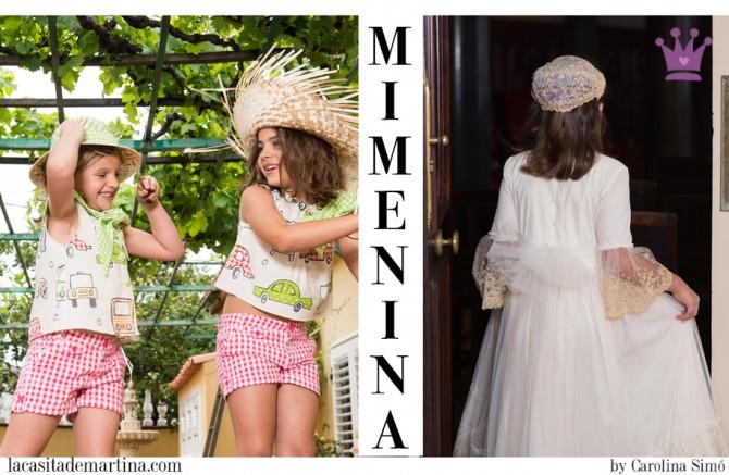 Mimenina moda infantil, Trajes de Comunión, Vestidos de Comunión, Blog de Moda Infantil, Blog Moda Bebé, La casita de Martina