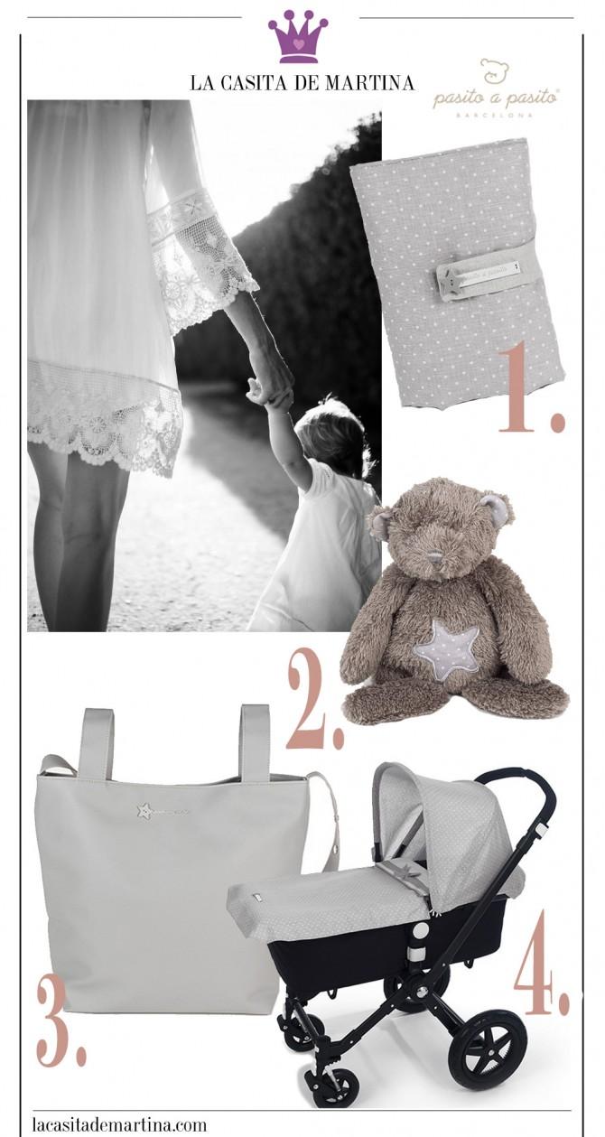 Pasito a Pasito, Blog Moda Infantil, La casita de Martina, Moda Niños, Bolso maternidad