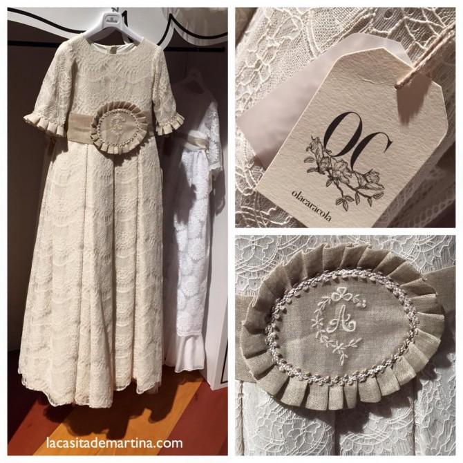 Olacaracola, Trajes de Comunión, Vestidos Comunión, Blog de Moda Infantil, Carolina Simo, La casita de Martina