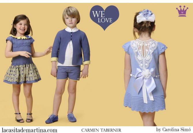 Carmen Taberner moda infantil, Blog Moda Infantil, Vestidos para niñas, Ropa Niños, La casita de Martina, Moda Infantil verano