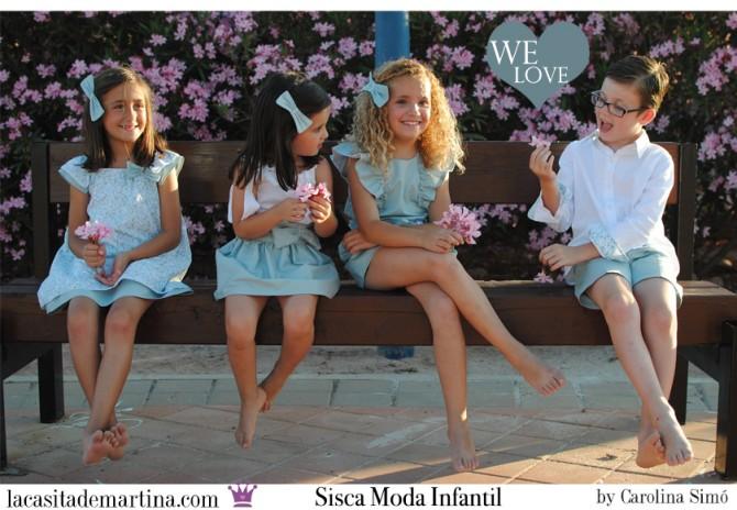 SISCA moda infantil, Blog Moda Infantil, Vestidos para niñas, Ropa Niños, La casita de Martina, Moda Infantil verano
