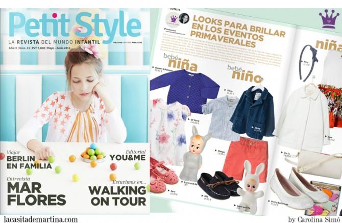 Revista Petit Style Moda Infantil, Moda Niños, Blog Moda Infantil, La casita de Martina, Carolina Simo
