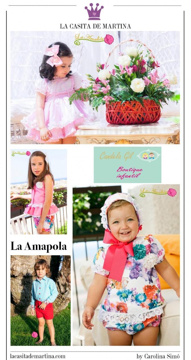 La Amapola Moda Infantil, Tiendas moda infantil Sevilla, Boutique Candela Gil, Tienda Moda Niños, Blog de Moda Infantil