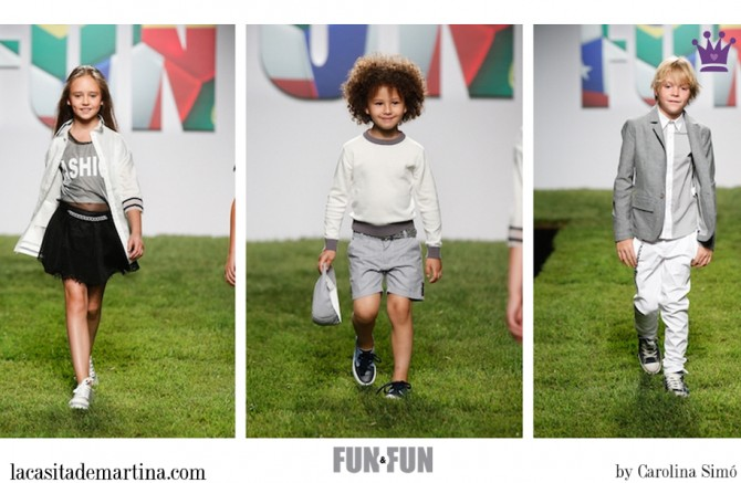 FUN & FUN, Blog Moda Infantil, La casita de Martina, Moda Niños, Moda Infantil, Fashion Shows kids