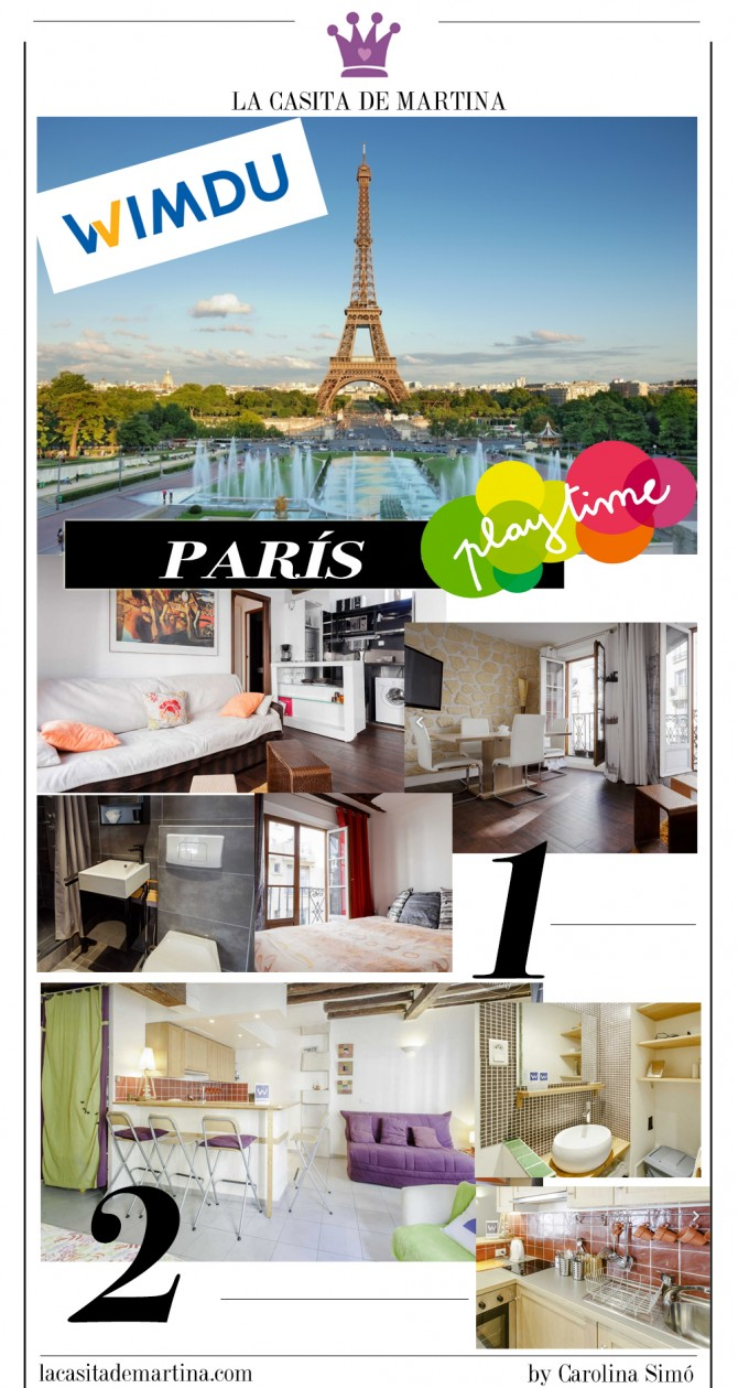 Wimdu, Alquiler vacacional, Apartamentos Paris, Viajes con niños, Blog Moda Infantil