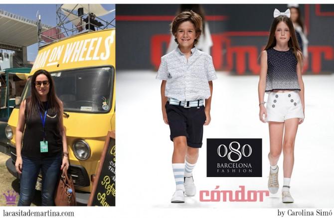 080 Barcelona, Cóndor moda infantil, ropa niños verano 2016, Blog Moda Infantil, La casita de Martina