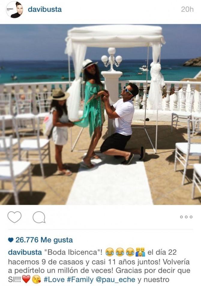 Instagram David Bustamante, Paula Echevarría en Ibiza, Marca bikini Daniella Bustamante, Blog de Moda Infantil, La casita de Martina, Carolina Simó, 3