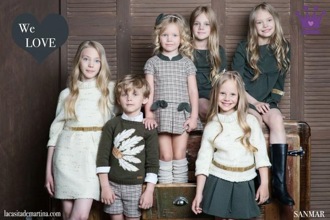10 Sanmar moda infantil, Blog Moda Infantil, Moda infantil infantil invierno, La casita de Martina