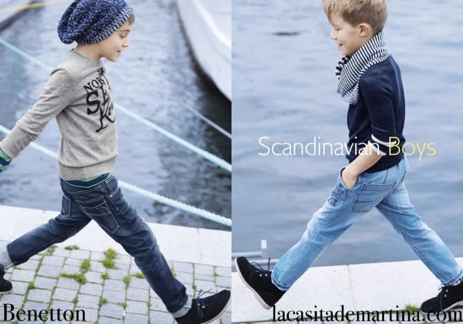 Blog Moda Infantil, Benetton, Tendencias Moda Niños Otoño Invierno 2015, Mango Kids, La casita de Martina