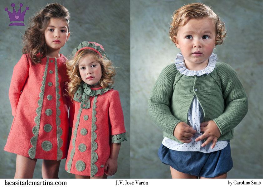 16dddb828 ♥ J.V. JOSÉ VARÓN colección de moda infantil Otoño Invierno 2015 ...