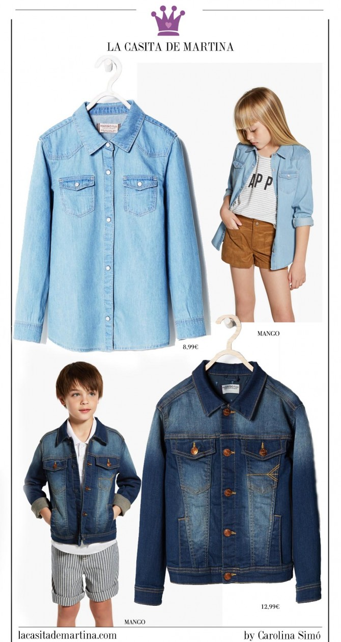 Blog Moda Infantil, Mango Kids, Rebajas ropa niños, Tendencias moda infantil, La casita de Martina