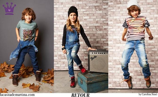 Blog Moda Infantil, RETOUR jeans, Tendencias Moda Niños Otoño Invierno 2015, Mango Kids, La casita de Martina