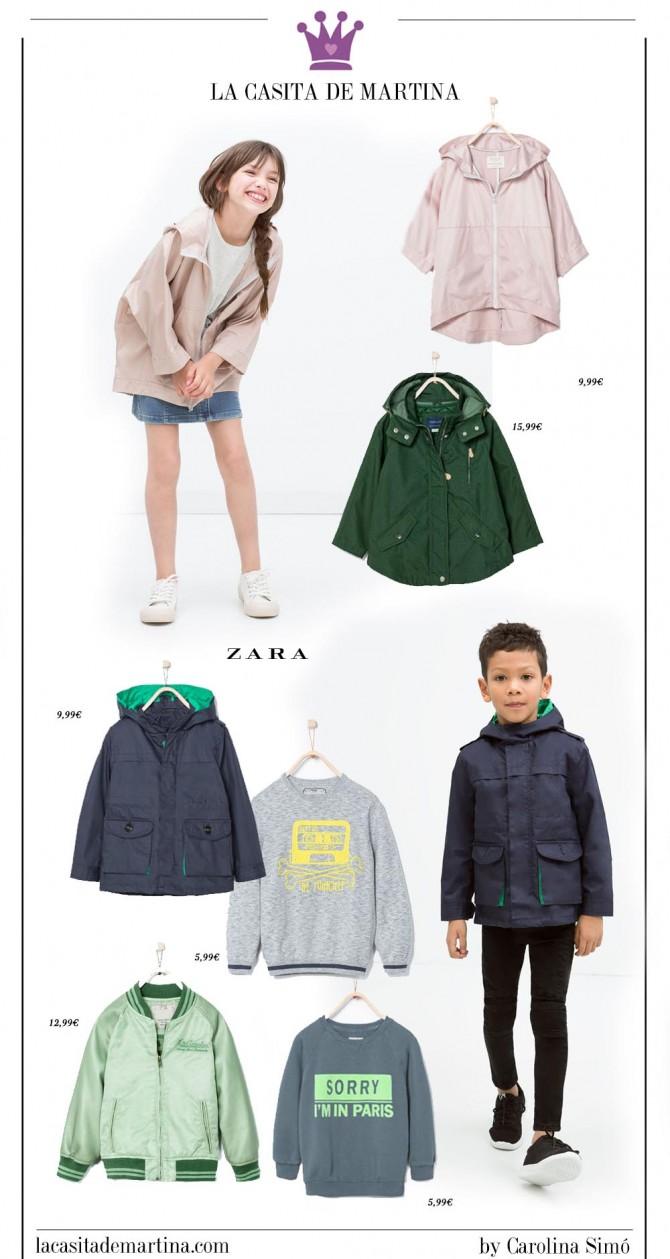 Blog Moda Infantil, ZARA Kids, Rebajas ropa niños, Tendencias moda infantil, La casita de Martina