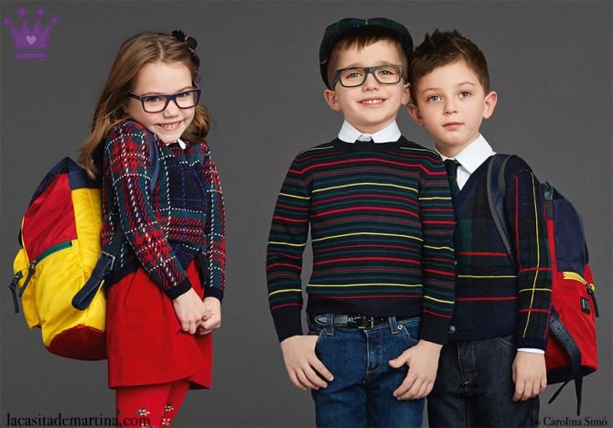 Dolce and Gabbana, winter 2016, Fashion Kids, Blog de Moda Infantil, Moda Niños, 2