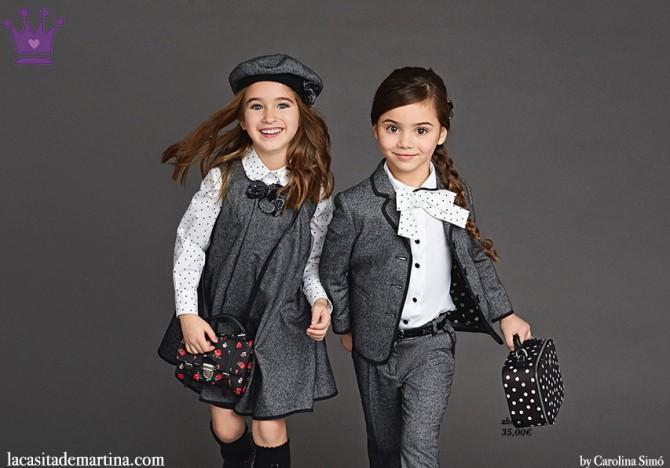 Dolce and Gabbana, winter 2016, Fashion Kids, Blog de Moda Infantil, Moda Niños, 4