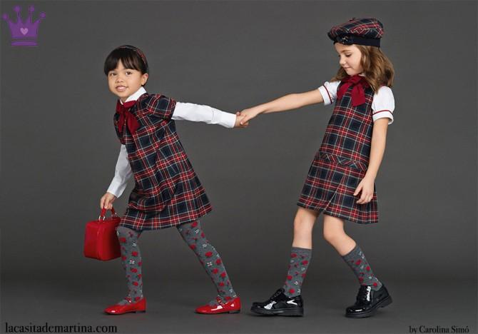 Dolce and Gabbana, winter 2016, Fashion Kids, Blog de Moda Infantil, Moda Niños