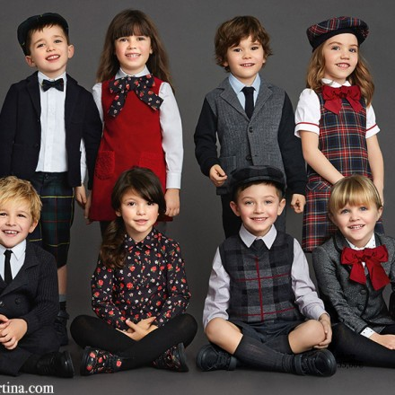 Dolce and Gabbana, winter 2016, Fashion Kids, Blog de Moda Infantil, Moda Niños, 7