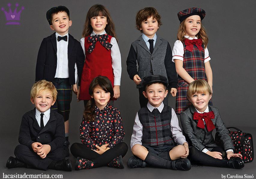 ♥ VUELTA AL COLE 2015 DeLuxe de la marca de moda infantil DOLCE  GABBANA ♥  Blog de Moda Infantil, Moda Bebé y Premamá ♥ La casita de Martina ♥