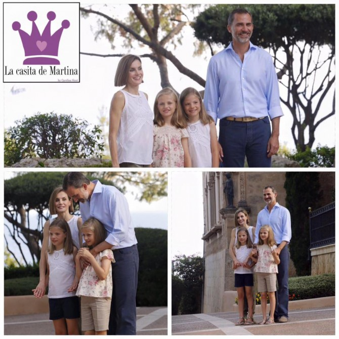 Familia Real Española, Reina Doña Letizia, Princesa Leonor, Infanta Sofía, vestidos princesa Leonor, Blog Moda Infantil