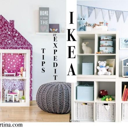 Ikea Expedit Hacks, Habitaciones infantiles, Ideas decoración habitaciones niños, Blog Moda Infantil, La casita de Martina