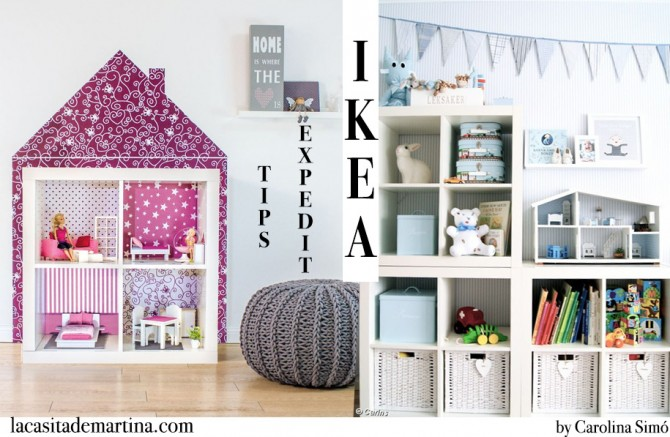 Qu quieres hacer con la estanter a expedit de ikea for Perchas bebe ikea