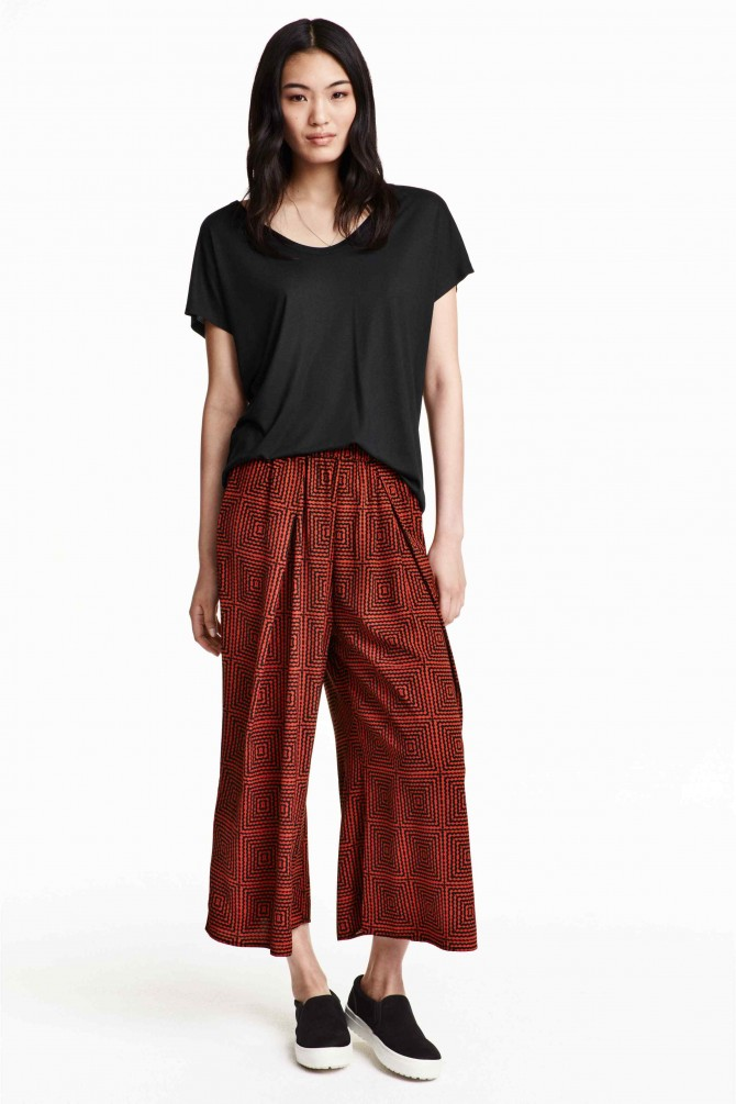 Blog de Moda Infantil, H&M, Tendencias moda infantil, La casita de Martina, Pantalón culotte, 1
