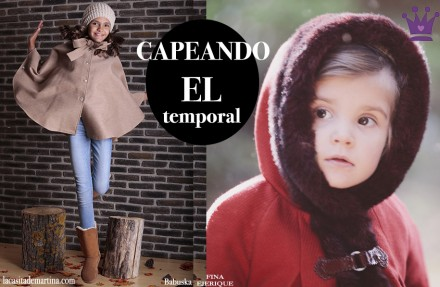 Capas para niñas, moda infantil, Blog de Moda Infantil, Tendencias Moda Infantil, La casita de Martina