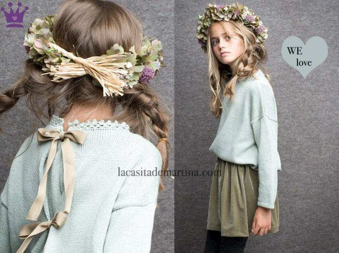 LA BUBÉ moda infantil, Blog Moda Infantil, Moda infantil infantil invierno, La casita de Martina