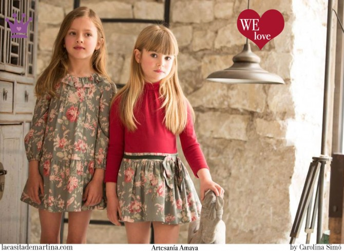 Artesanía Amaya moda infantil, Blog Moda Infantil, Moda infantil infantil invierno, La casita de Martina