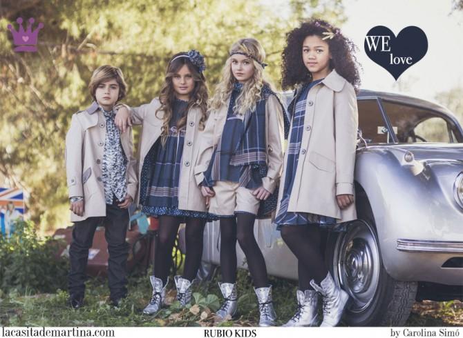 RUBIO KIDS moda infantil, Blog Moda Infantil, Moda infantil infantil invierno, La casita de Martina