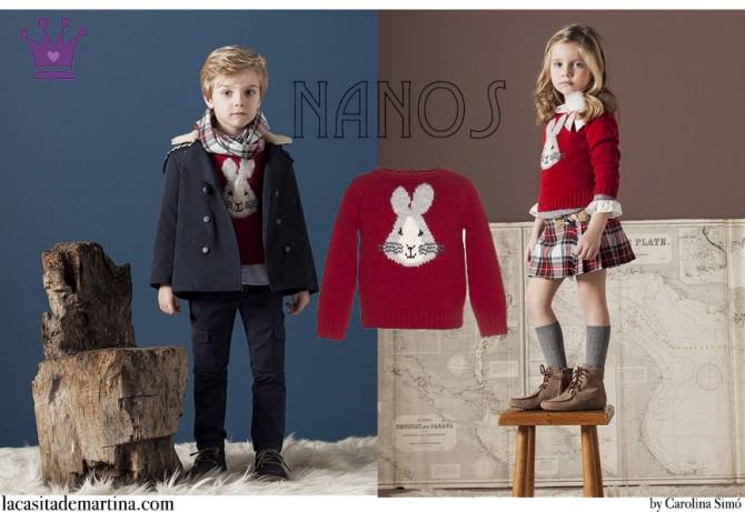 Blog Moda Infantil,  NANOS, Tendencias Moda Niños Otoño Invierno 2015, La casita de Martina