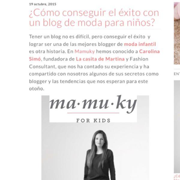 Carolina Simó, La casita de Martina, Blog de Moda Infantil