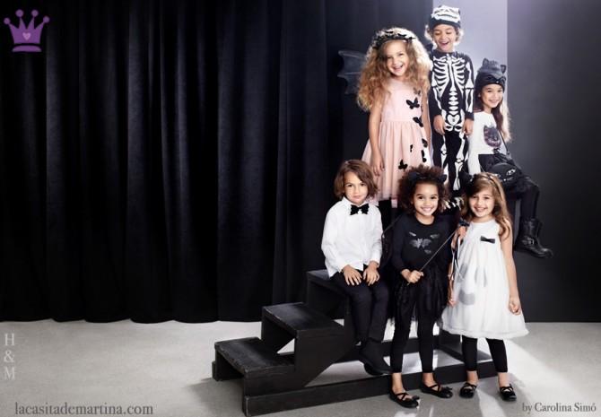 Disfraces Hallowen, Blog de Moda Infantil, La casita de Martina, H&M Kids
