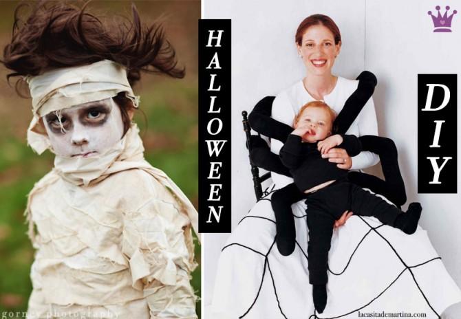 8 DISFRACES sencillos y económicos de HALLOWEEN para niños ♥ : Blog de Moda Infantil, Moda Bebé ...